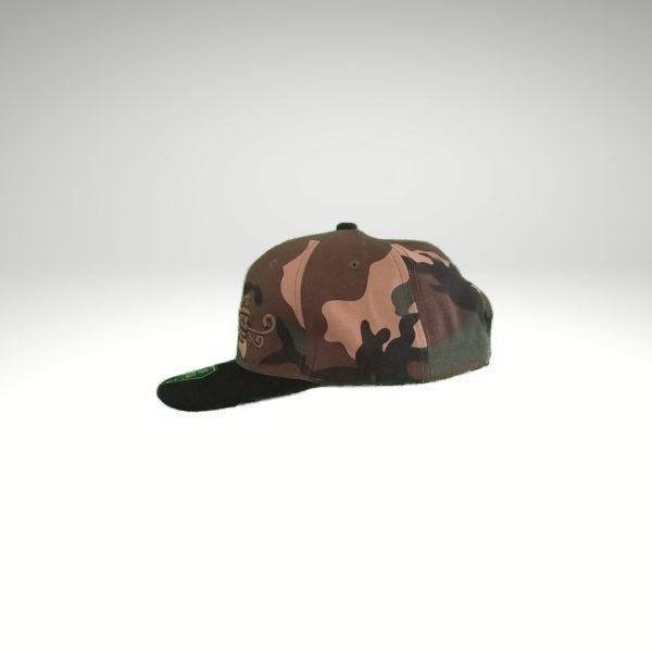 camo hat side b
